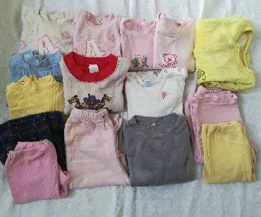 Dečija odeća i obuća - Vranje: Paket 15 kom sve za 1400 din vel 1-2, vrlo kvalitetne: bluzice obim