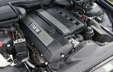 BMW M52 2.8 motor zbor satilir motor masinin ustundedixoda salib baxa