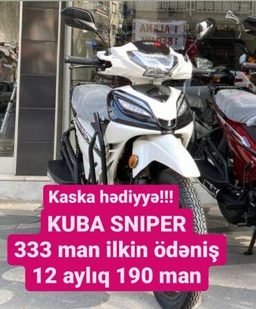 BMW - Azərbaycan: KUBA SNIPER 2020 modelSürət: 160 kmMotorun həcmi: 50 kubIstehsalçı