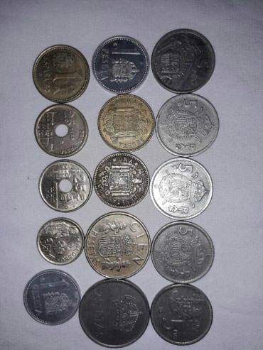 Продаю монеты испании. договорная в Токмак