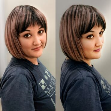Мода, красота и здоровье в Душанбе: Стрижка каре+окрашивание волос 4000сом