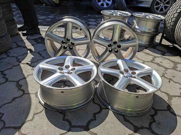 купить диски для машины в Кыргызстан: Оригинальные диски TOYOTA Диаметр R17Сверловка 5*100Ширина 7.0j Вылет
