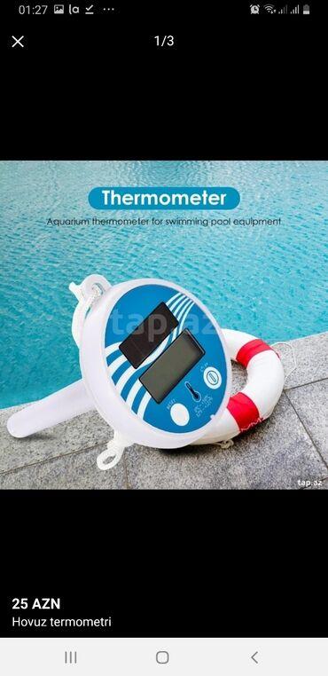3 elan | İDMAN VƏ HOBBI: Hovuz termometri Hovuz termometri Baseyn üçün termometr0°C ~ +50