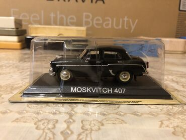 Avtomobil modelləri - Azərbaycan: Moskivic 407 .1.43 miqyas alman istesali luks model