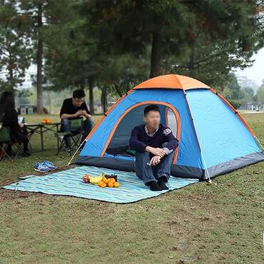 палатки бишкек in Кыргызстан | ПАЛАТКИ: Походная палатка Хаки на 3-4 человека  +бесплатная доставка по КЫРГЫЗС