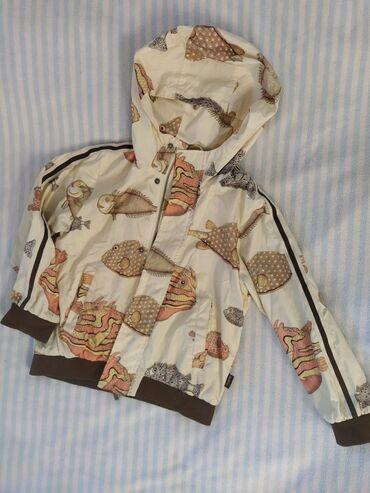 Куртка Guliver ветровка, на 3-4,5 лет, рост 116 см., демисезонная