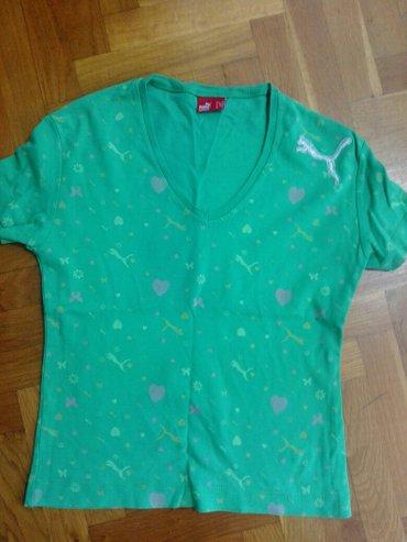 Puma majica nosena par puta pise xl ali odgovara za m - Belgrade