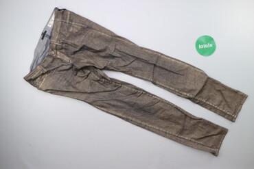 Жіночі штани з полиском Sisley р. XXS    Довжина: 97 см Довжина кроку
