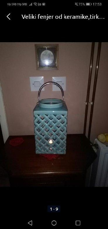 Rasveta | Sombor: Fenjer keramika
