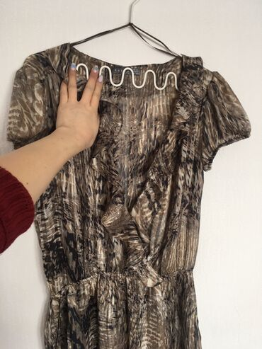 Платье от KOTON Одевала 1 раз Пояс на резинке Есть кармашки очень лёгк