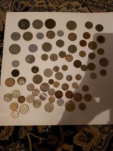 10 рублевые юбилейные монеты в Кыргызстан: Коллекция монет и бумажных денег,большая,от юаней и рублей до евро и