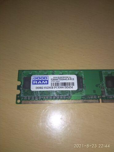 31 объявлений | ЭЛЕКТРОНИКА: Оперативная память (GOOD/RAM) DDR2 512MB 250 сом окончательно