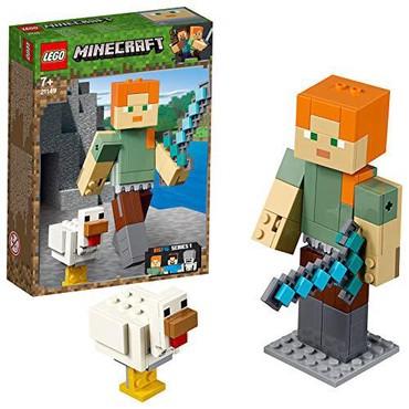 robot konstruktorları - Azərbaycan: Minecraft konstruktor.Personaj164 hisseden ibaretdir.6 yasdan asagi