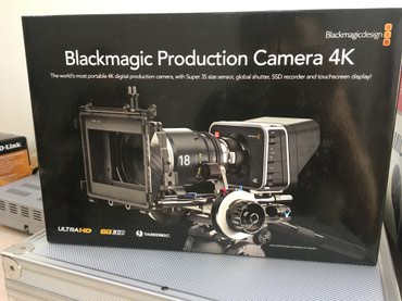Blackmagic Production Camera 4K в Бишкек
