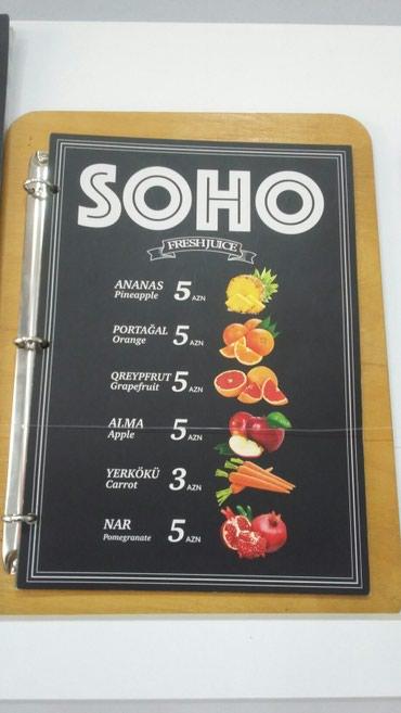 Bakı şəhərində Restoran sistemlərinə keyfiyyətli və yüksək dizaynlı