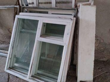Продам окна двойные все стеклами подоконник и рамки комплект,размер