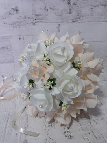 свадебный букет в Кыргызстан: Свадебные букеты, ручная работа, цветы не Китайские. В наличии и на за