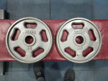 Блины на олимпийскую штангу.2×25lb. Цена за пару