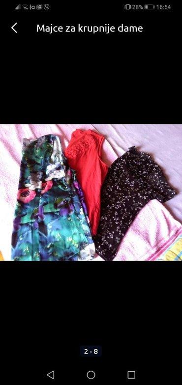 Ženska odeća   Sombor: Majce za krupnije dame, nosene ali ko nove