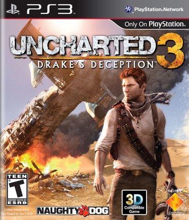 Ps3 *uncharted 3* в Bakı