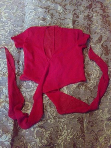 слипоны женские на тонкой подошве в Кыргызстан: Женская короткая блузка на запах, размер XS-S, в отличном состоянии