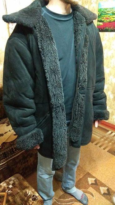 Мужские пальто в Кыргызстан: Мужская дублёнка размер 7xl. на очень большого мужчину. торг