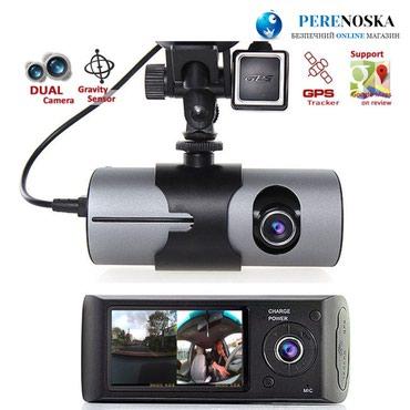 Bakı şəhərində Avtomobil ucun videoqeydiyyatci r300 model. 2 kamerali. registrator