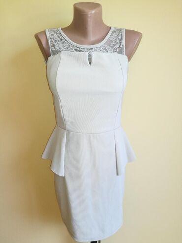 Haljine | Bajina Basta: Haljina boje drap, boja bele kafe. Odgovara za xs/s. Poluobim pazuh