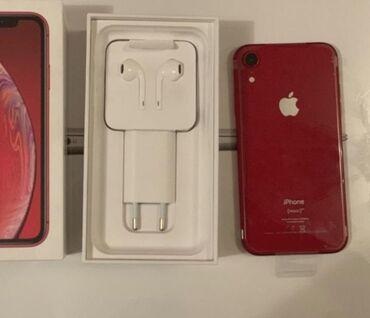 наушники oppo в Кыргызстан: Б/У iPhone Xr 64 ГБ Красный