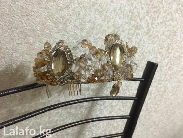 brillianty s golubym в Кыргызстан: Корона от lady's accessories 2000 новая очень дешего покупала за 3500