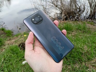 Электроника - Араван: Xiaomi Poco X3   64 ГБ   Серый   Отпечаток пальца, С документами