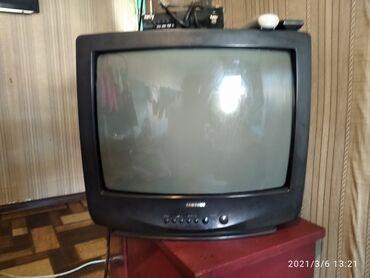 Продается телевизор Samsung+ресивер в хорошем состоянии! Показывает