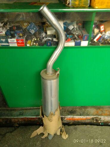 Продаю задний глушитель на Ауди 100 на 4 цилиндровый мотор