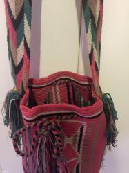 Τσάντα boho αυθεντική, χρησιμοποιήθηκε σε Αθήνα
