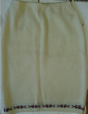 Suknja struka od - Srbija: Štrikana suknja, fabrički štrikana,italijanske proizvodnje,dezen kao