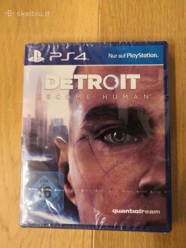 PS4 (Sony Playstation 4) Azərbaycanda: Ps4 üçün Detroit Become Human oyunu. Sony PlayStation 4 oyunlarının və