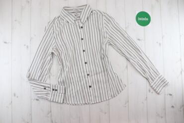 Жіноча сорочка у вертикальну смужку D`Auvry, p. M    Довжина: 62 см Ши