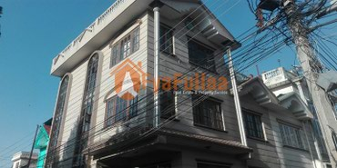 A strongly built flat system house having land area 0-2-2-0 of 3 in Kathmandu