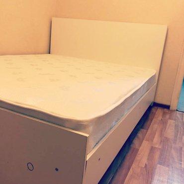 Кровать новая 2х спальная размер 160х200 с комодом вместе 11350 в Бишкек