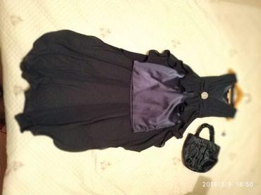 синее вечернее платье в Кыргызстан: Продаю очень красивое вечернее платье для девочки .Темно синего цвета