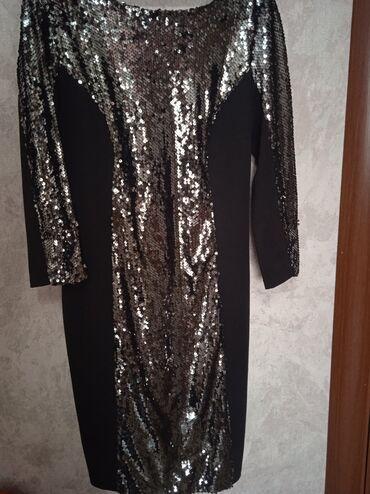 Платье, надевала всего один раз!!44 размер, длина идёт до