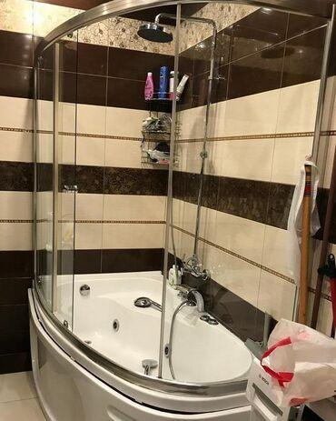 Duş kabina 250 azn satilir ela veziyyetde 100*170 sm olcude ərazi