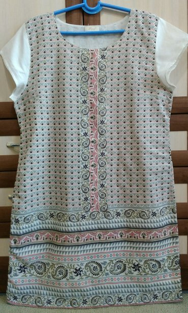 Платье на лето с подкладкой хб р.50-52