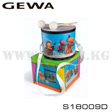 Детский маршевый барабан Gewa S18009DОсновные характеристики:-Маршевый