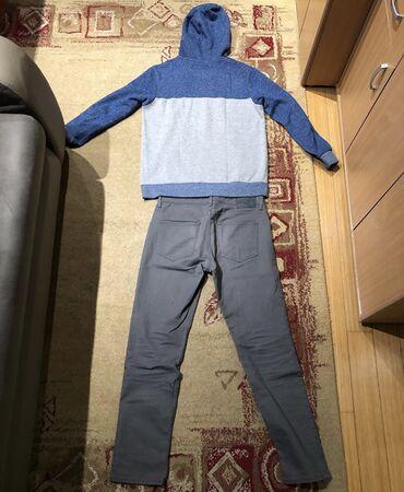Muski komplet 800din. Pantalone gotovo nekoriscene se prodaju posebno
