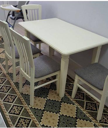 Столы и стулья высокого качества на в Бишкек