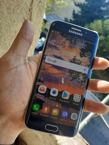 Samsung - Bakı: İşlənmiş Samsung Galaxy S6 Edge 32 GB göy