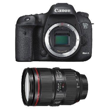 canon профессиональный фотоаппарат в Азербайджан: Canon 7D + Canon EF 24-105mm