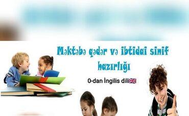 Xidmətlər - Şəki: İngilis dili hazırlığıHeftede 3 defeQiymet-20AznMektebeqeder ve 1-4