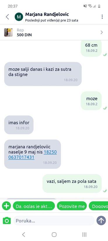 Barum barum - Srbija: Marjana Randjelovic vraca paket